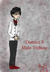 District 3 Male Tribute by MissySerendipity