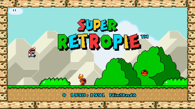 RetroPie - Super Mario World by Ryokai