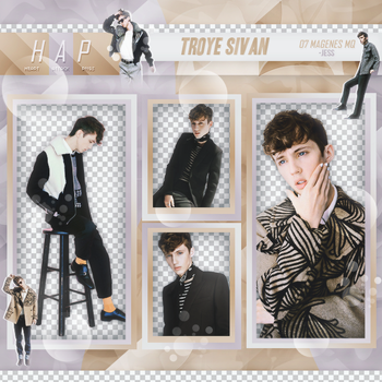 + Troye Sivan   Pack Png by Heart-Attack-Png