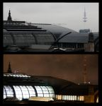 Hamburg Main Station by lordyo