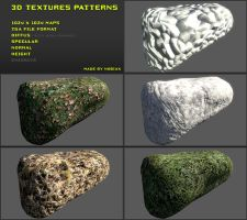 Free 3D textures pack 16 by Yughues