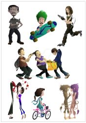 Characters by anantdixit