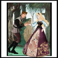 BRIAR ROSE AND PRINCE PHILLIP,FAIRYTALE DISNEY!!! by Rob32
