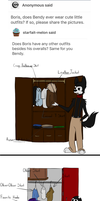 ask-the-dancing-demon Answer: Wardrobe by The-Purple-Gremlin