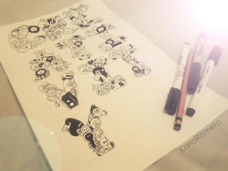 Doodle : CREATIVITY by kailascribbles