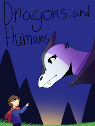 Dragon and Humans Cover by Fenion-Drawz