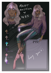 Adoptable AUCTION PayPal [CLOSED] by Nuaramel