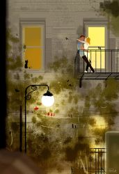 When the warm evenings come back. by PascalCampion