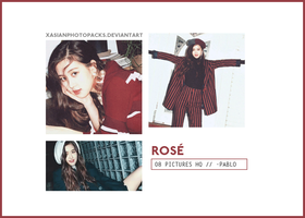 Photopack 2464 // Rose (BLACKPINK). by xAsianPhotopacks