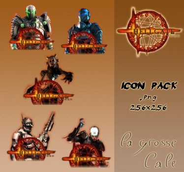 Hellgate London Icon Pack by LaGrosseCale