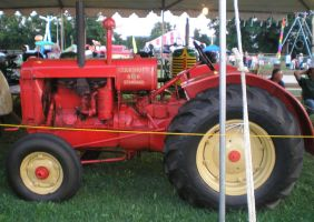 Tractor Display by steward