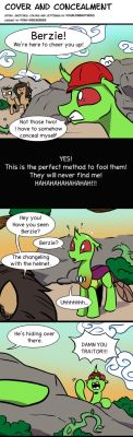 Cover And Concealment (test collab) by Pony-Berserker