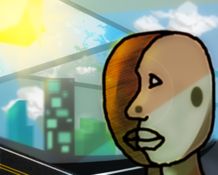 City Boy (Try at Cubism) by frNME