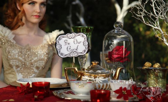 Beauty and the Beast Themed Wedding by Firefly-Path