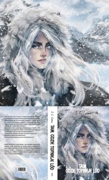 BOOK COVER | WHERE THE ICE IS MELTING I by alexzappa