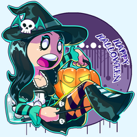 Happy Halloween by Mannievelous
