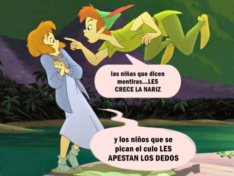 peter pan gracioso by ackingarthur