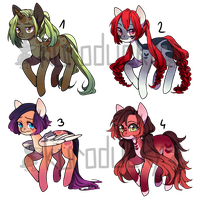 Pony Adopts Set Price closed by duck-aderpts