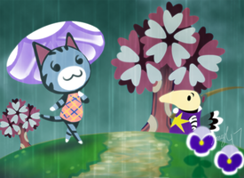 AC: April Shower by HoneyL17