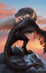 Old Hermit Paarthurnax by MashkaLord