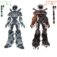 Twinge's IDW TF: MTMTE Ref and Bio by PurpleGramps