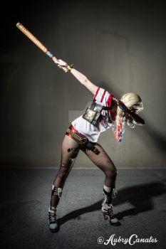 Harley Quinn Dab! by coolbyproxy