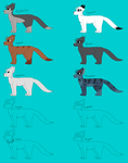 WIP - Warrior Cats REF (For My MAP) by Askardle