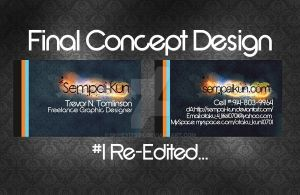 SK Business Card Re-Edited by OhHeyItsSK