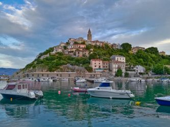 Vrbnik town in Croatia by mysterious-one