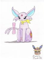 FA - Sweetie the Espeon by Sir-Genesis