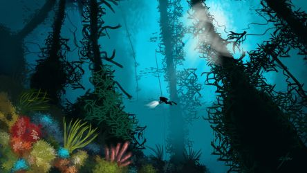 Kelp Forest by Kxmode
