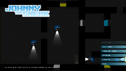 Johnny The Sneak (Unity3D game) by laperen