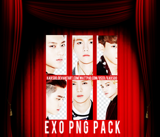 EXO PNG Pack by kaixsoo