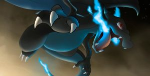 Mega Charizard X by All0412