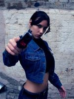 Lara Croft with USP Match by TanyaCroft