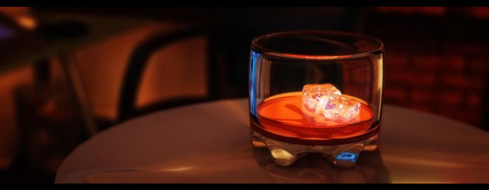 Whiskey in a glass by Dave-DK