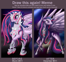 Draw This Again Meme: Twilight Moon by jewlecho