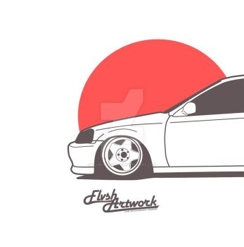 Civic Type R by flvshartwork