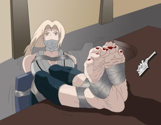 COMISSION: Tsunade Bondage by Arlioth