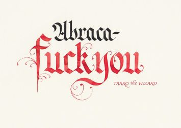 Taako the Wizard - AbracaFUCK YOU by MShades