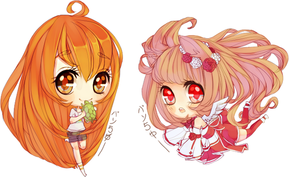 Experimental Mini Chibis by fuwaffy