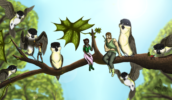 The Willow tits by xXDustyRiderXx