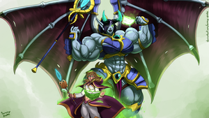 Commission:  Bufflord Jaina is born! by Sammy-Upvotes