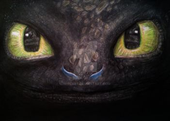 Toothless by Witlart