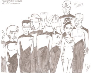 Captain Star: The Next Generation by JimmyTwoTimes2K9