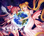 Protectors of earth by RavenMomoka