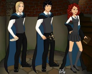 Next Generation of Heroes - Scorpius, Albus, Rose by Lady-Zaeliea