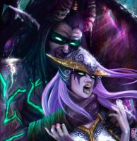 ILLIDAN / MAIEV - DOMINIO by inoxdesign