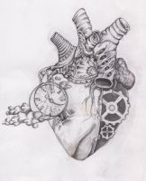 biomec heart by StrawberrySinner