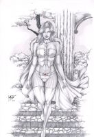 EMMA FROST. by Leomatos2014